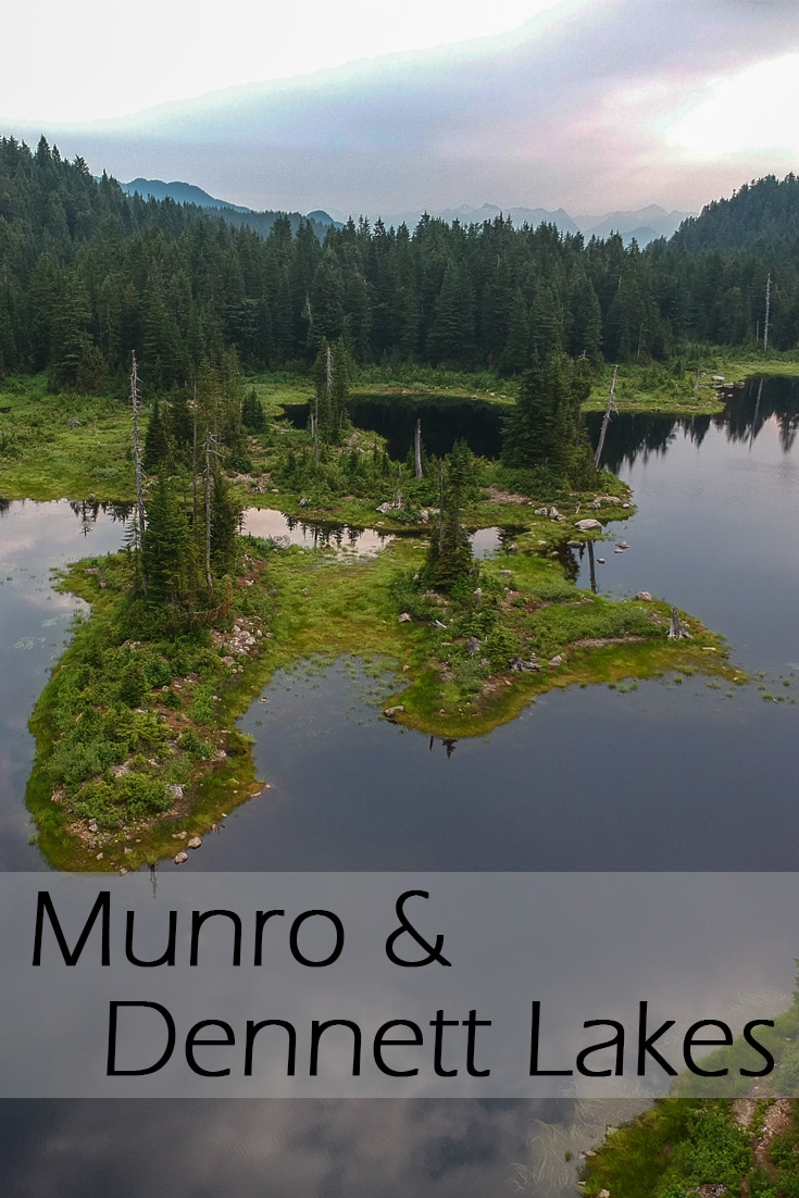 Munro Lake and Dennett Lake Hike in Pinecone Burke Provincial Park