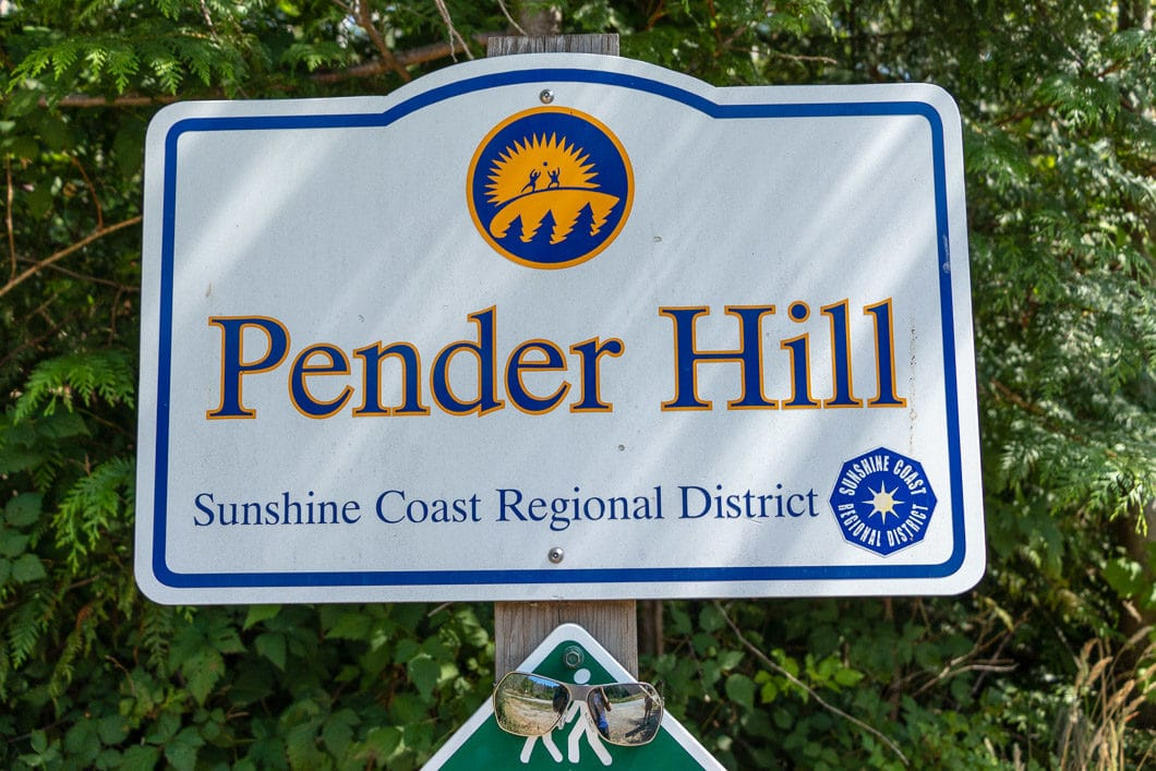 pender hill sign
