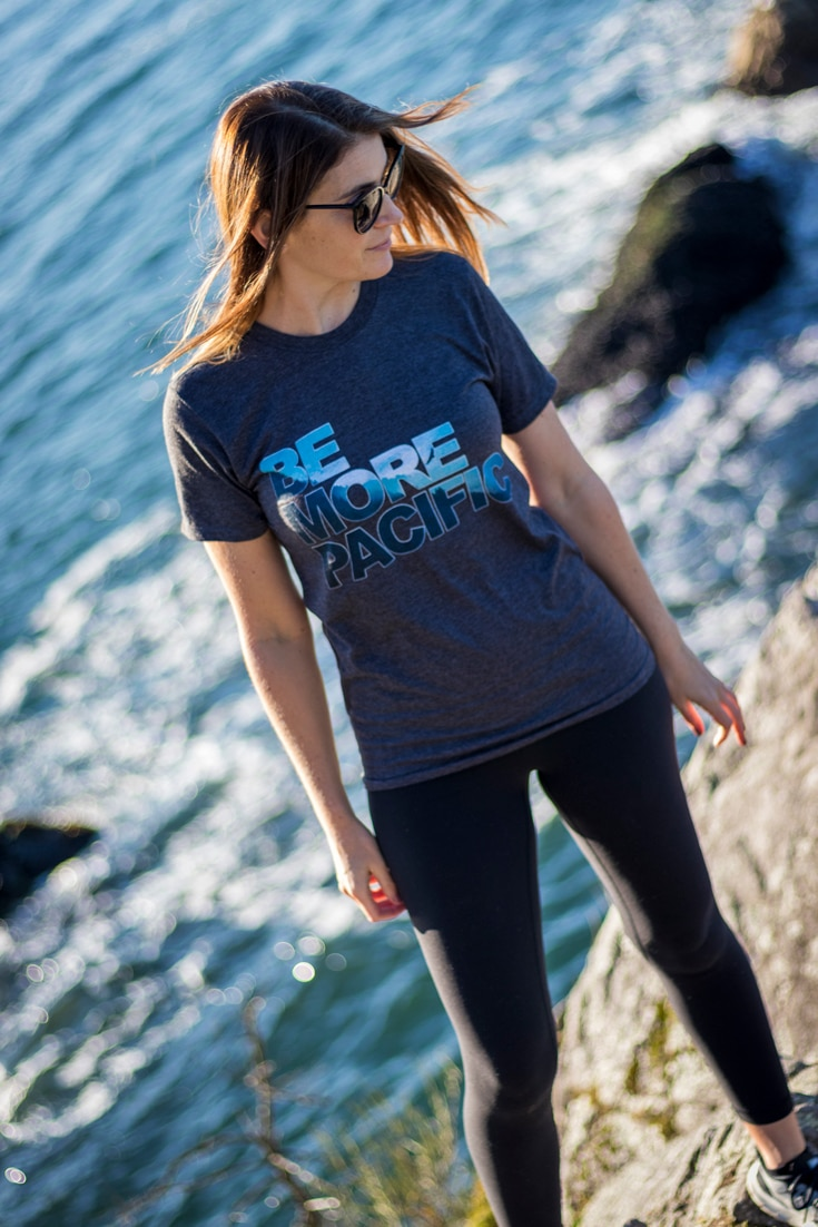 Be More Pacific - Forest Unisex Tee