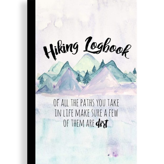 hiking logbook | Hiking Logbook: Trail Journal 1